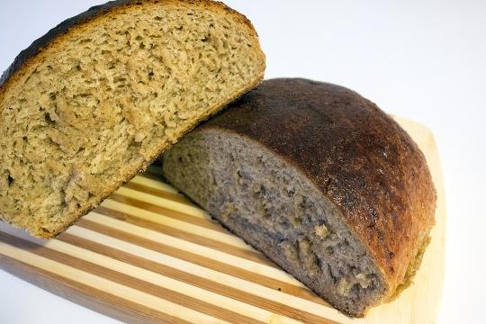 Skållat rågbröd